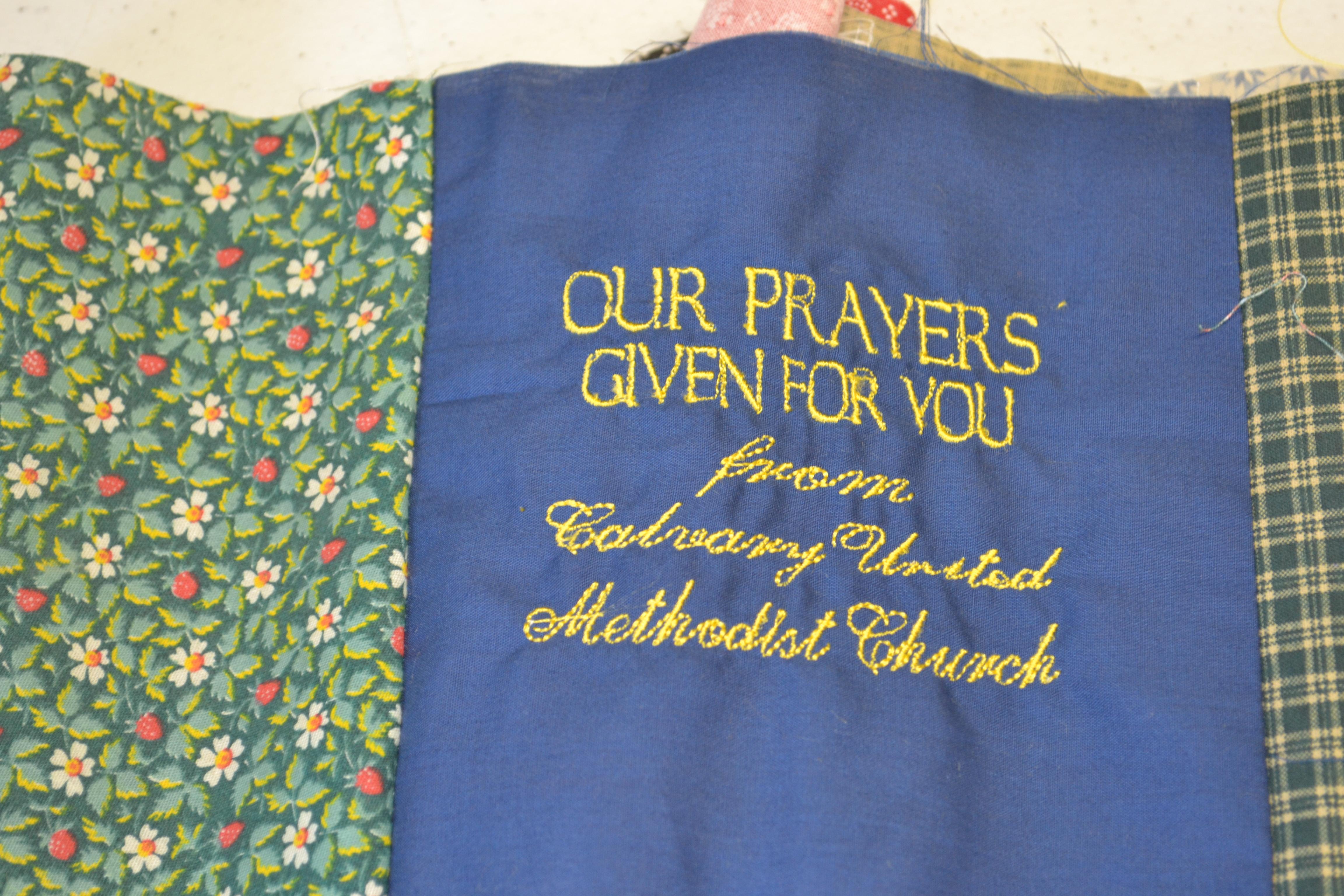 Missions | Calvary United Methodist Church - North Lima, Ohio : prayer quilts - Adamdwight.com