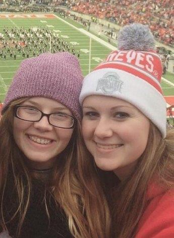 Jessica Lexus and Syndey at OSU game 2015 copy